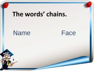 Name Face
