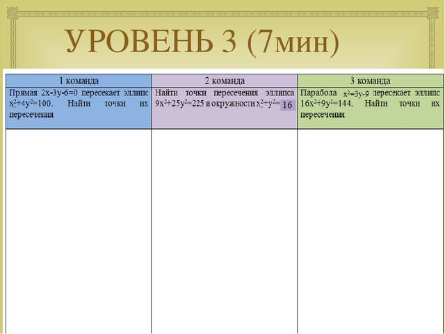 УРОВЕНЬ 3 (7мин) 