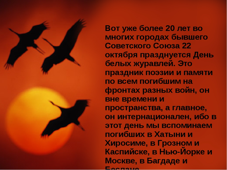 Вот уже более 20 лет во многих городах бывшего Советского Союза 22 октября пр...