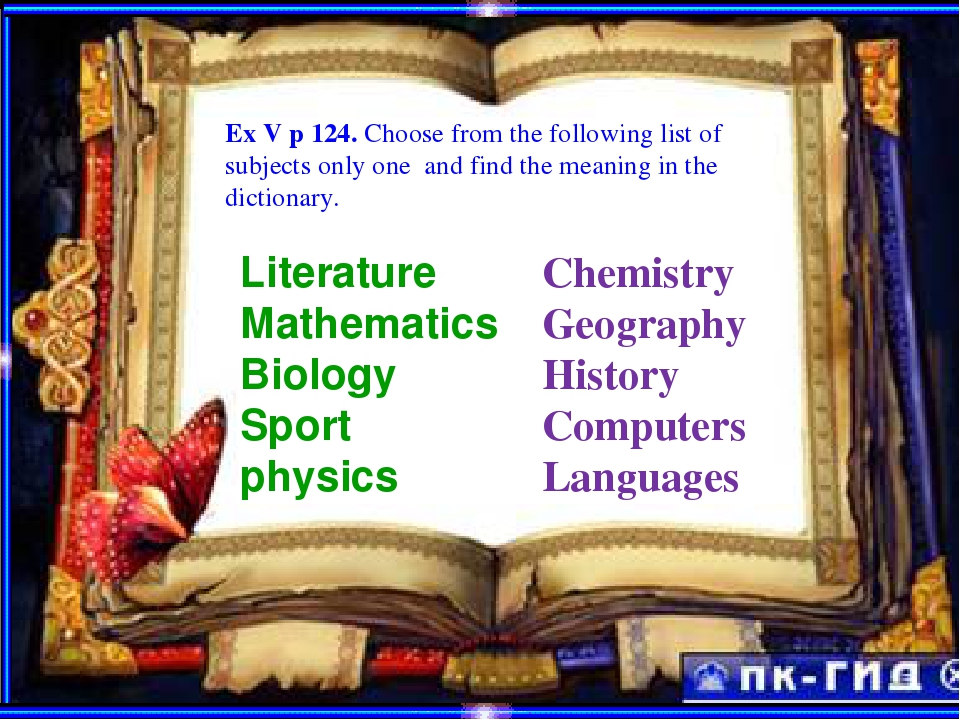 ExEEXE Ex V p 124. Choose from the following list of subjects only one and fi...