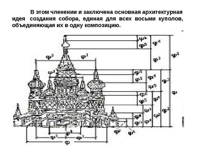 В этом членении и заключена основная архитектурная идея создания собора, еди...