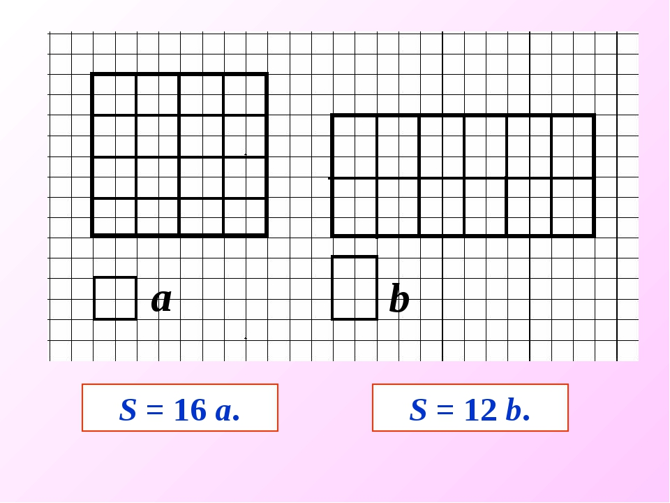 S = 16 а. S = 12 b.