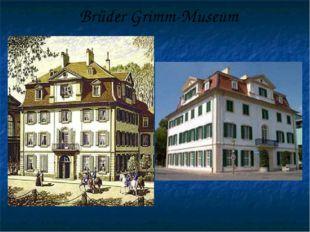 Brüder Grimm-Museum