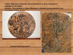 Образ Мирового Дерева прослеживался у всех народов и народностей мира. Космос