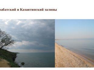 Арабатский и Казантипский заливы