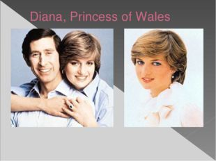 Diana, Princess of Wales Charles first took an interest in Diana as a potenti