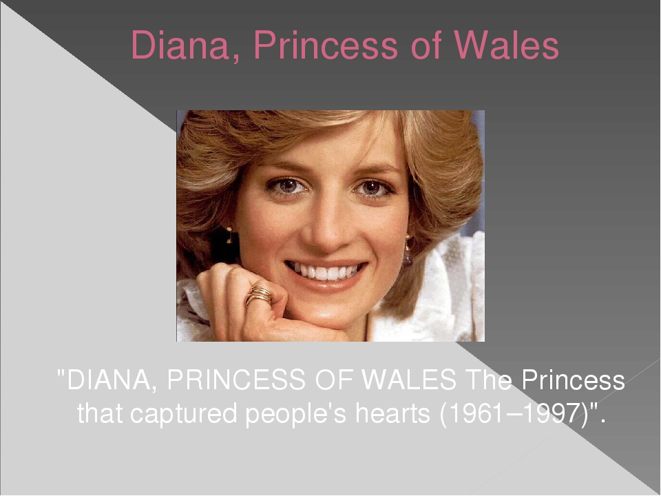 """Diana, Princess of Wales """"DIANA, PRINCESS OF WALES The Princess that captured..."""