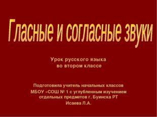 Подготовила учитель начальных классов МБОУ «СОШ № 1 с углубленным изучением о