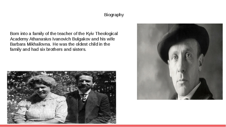 Biography Born into a family of the teacher of the Kyiv Theological Academy A...