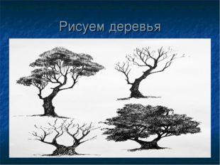 Рисуем деревья