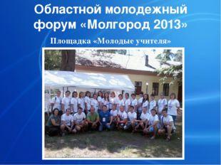 Областной молодежный форум «Молгород 2013» Площадка «Молодые учителя»