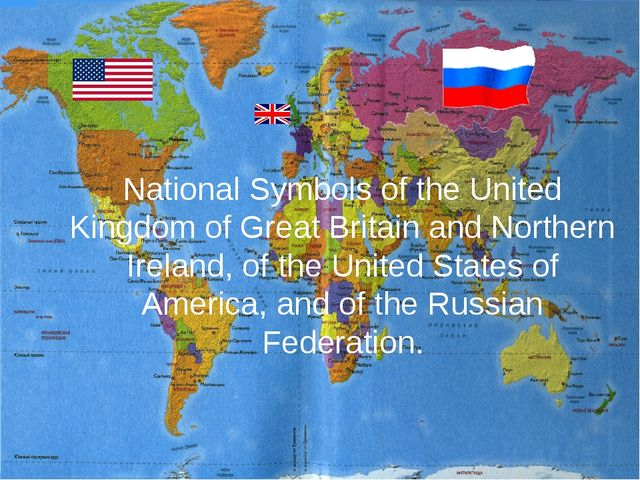 National Symbols of the United Kingdom of Great Britain and Northern Ireland,...