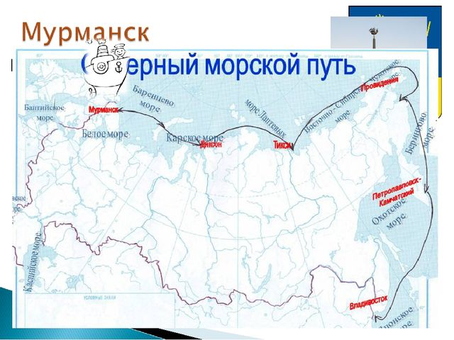 Крупнейший в мире город Заполярья Незамерзающий порт России