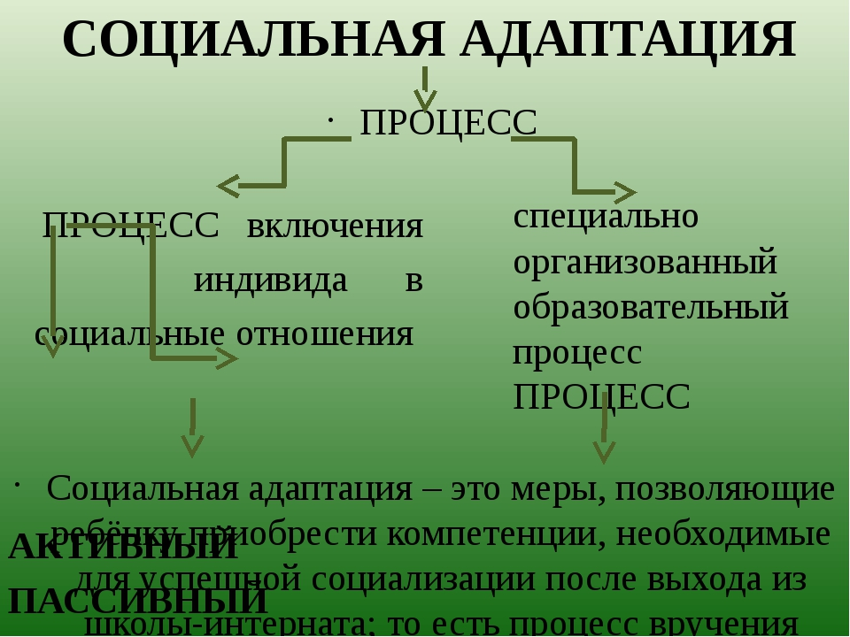 ПРОЦЕСС включения индивида в социальные отношения АКТИВНЫЙ ПАССИВНЫЙ СОЦИАЛЬН...