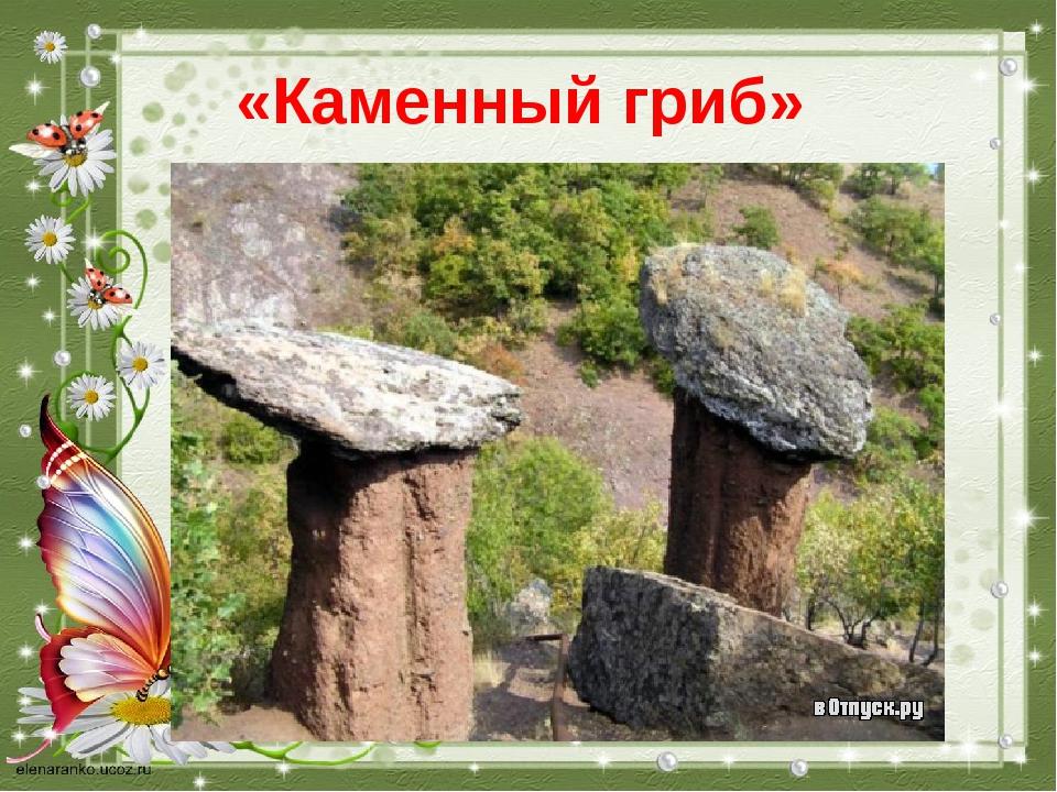 «Каменный гриб»