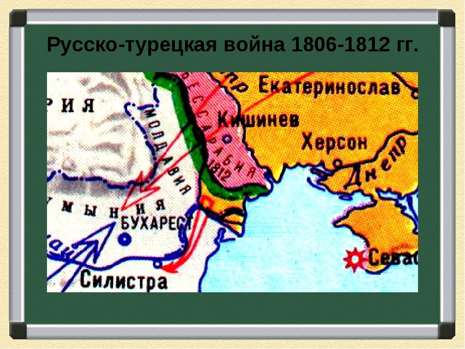 Русско-турецкая война 1806-1812 гг.