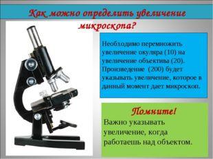 Необходимо перемножить увеличение окуляра (10) на увеличение объектива (20).