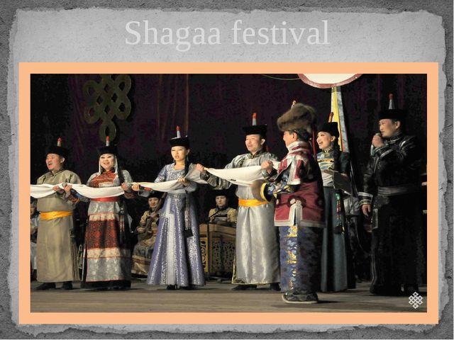 Shagaa festival