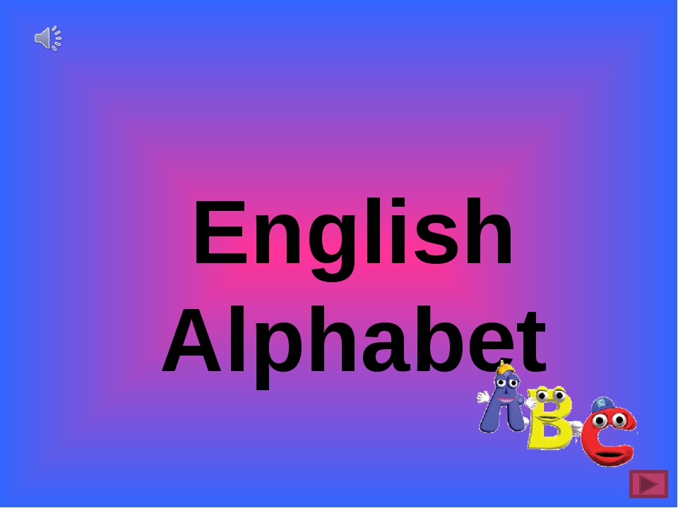 English Alphabet