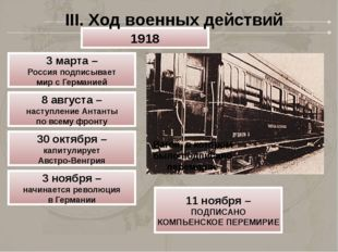 Вагон, в котором было подписано перемирие 1918 3 марта – Россия подписывает м