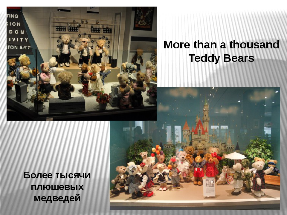 Более тысячи плюшевых медведей More than a thousand Teddy Bears Коллекция нас...