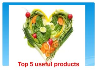 Top 5 useful products