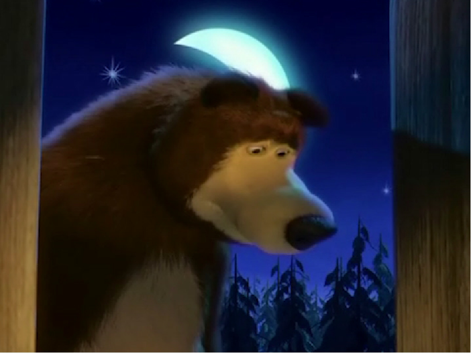 Серия 1 встреча маши и медведя