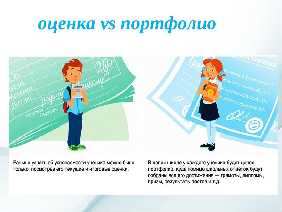 оценка vs портфолио