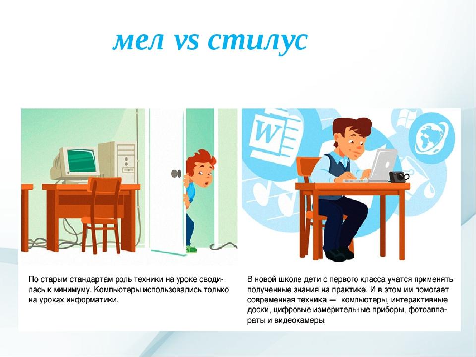 мел vs стилус