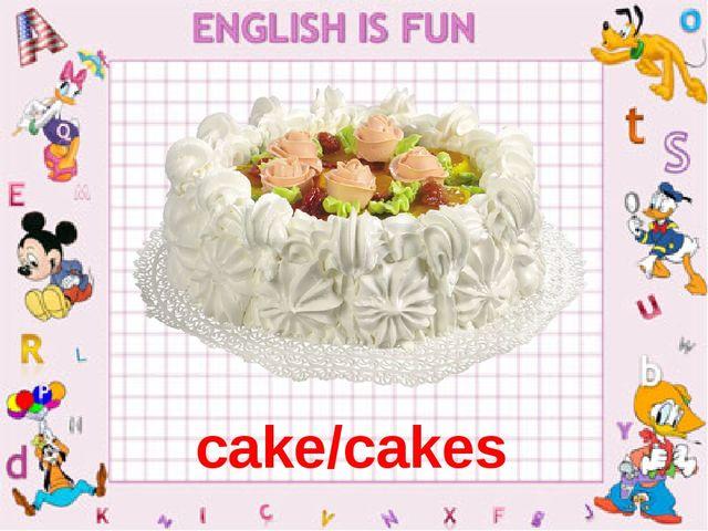 cake/cakes