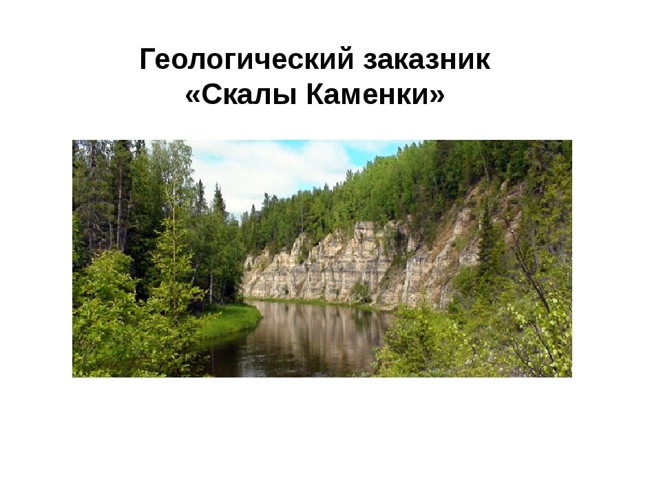 Геологический заказник «Скалы Каменки»