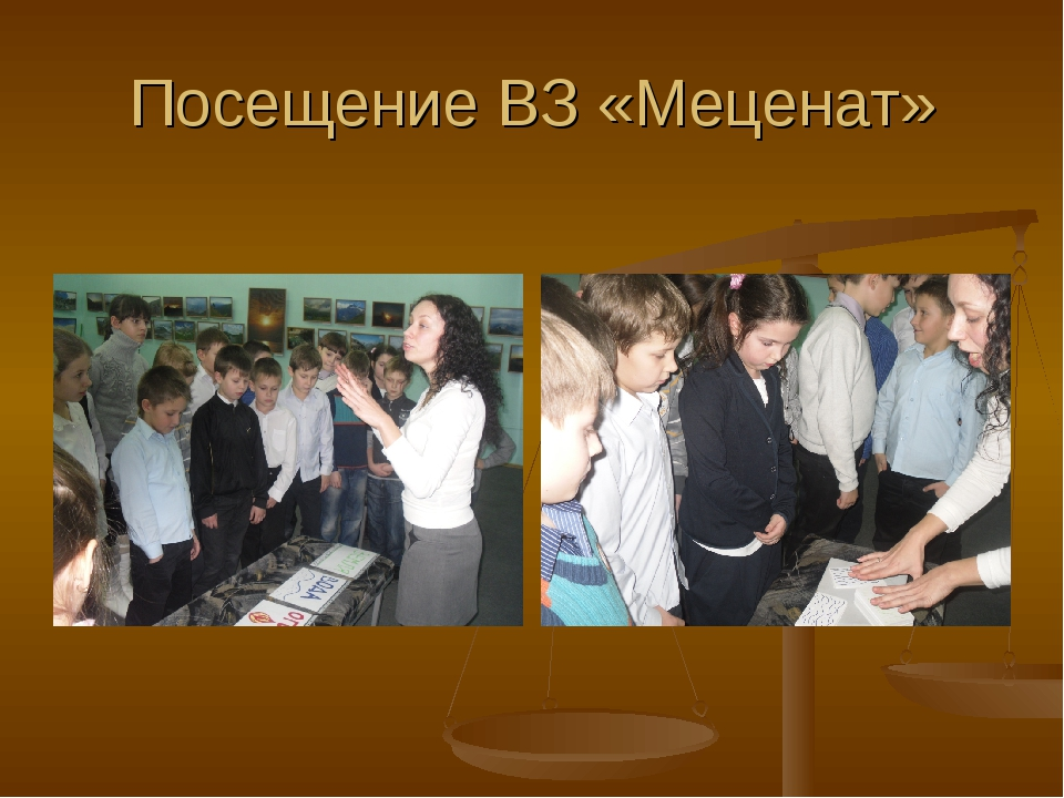 Посещение ВЗ «Меценат»