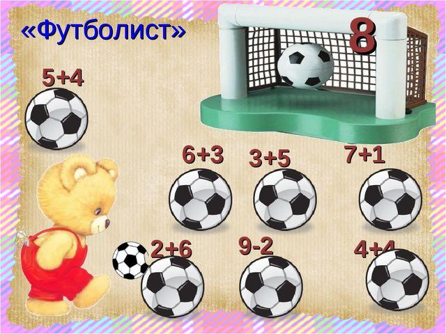 7+1 9-2 2+6 3+5 6+3 4+4 «Футболист» 5+4 8 scul32.ucoz.ru