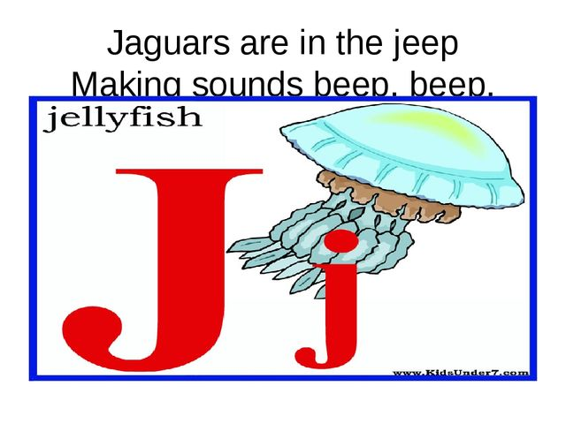 Jaguars are in the jeep Making sounds beep, beep, beep.