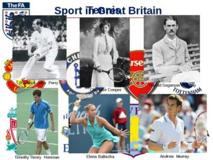 Sport in Great Britain Football Tennis Rederick John Perry Harold Segerson Ma