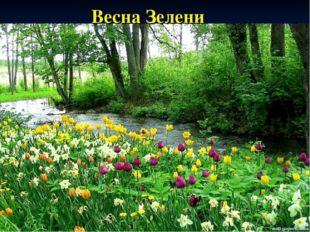 Весна Зелени