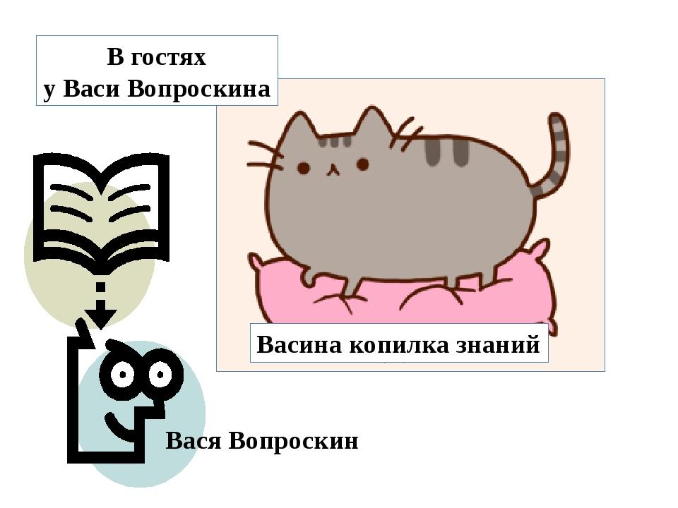 Вася Вопроскин Васина копилка знаний В гостях у Васи Вопроскина