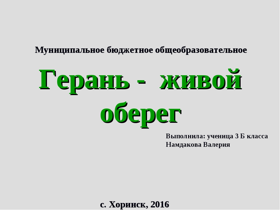 Муниципальное бюджетное общеобразовательное учреждение «Хоринская средняя об...