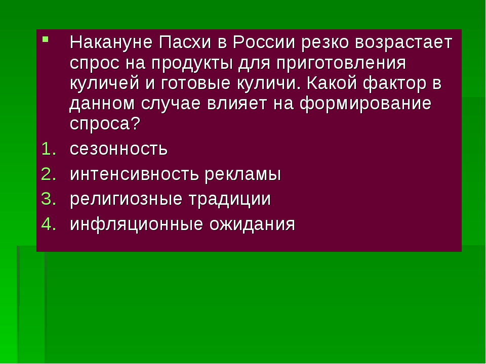 Накануне Пасхи в России резко возрастает спрос на продукты для приготовления...