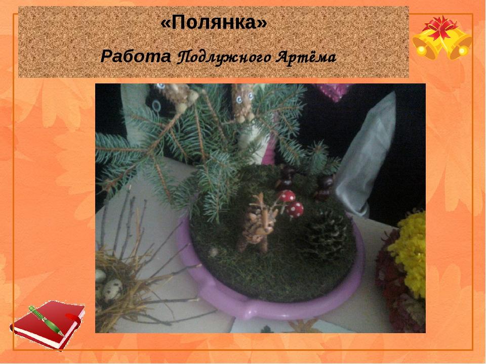 «Полянка» Работа Подлужного Артёма