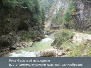 Река Фарс и её природные достопримечательности красивы, разнообразны и доступ