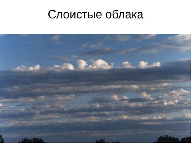 Слоистые облака