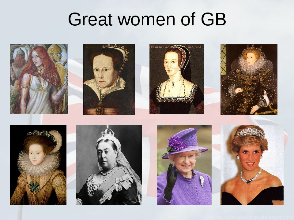 Great women of GB