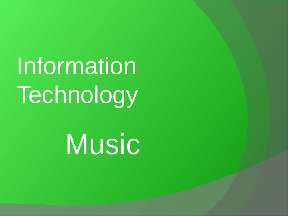 Music Information Technology