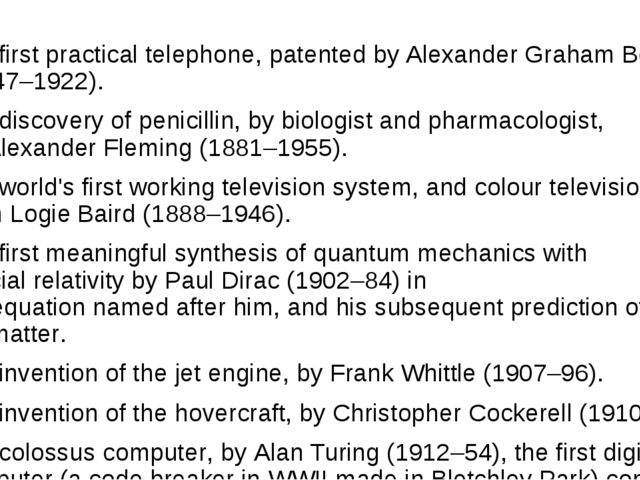 The first practical telephone, patented by Alexander Graham Bell (1847–1922)...