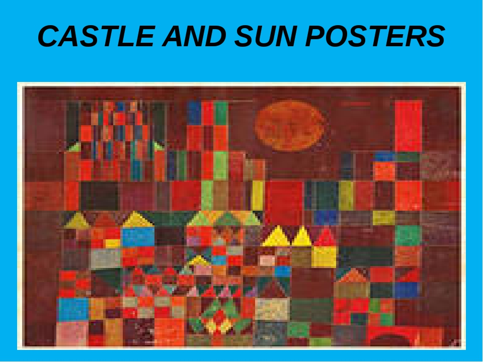 CASTLE AND SUN POSTERS