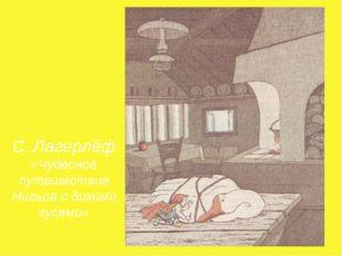 С. Лагерлёф «Чудесное путешествие Нильса с дикими гусями»