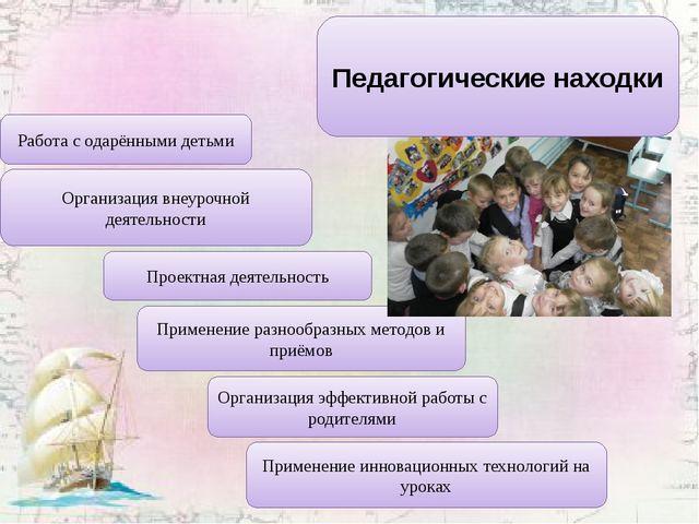 Педагогические находки Организация эффективной работы с родителями Организаци...