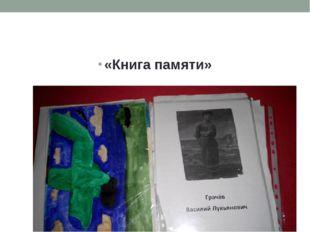 «Книга памяти»