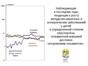Наблюдающая в последние годы тенденция к росту желудочно-кишечных и аллергиче
